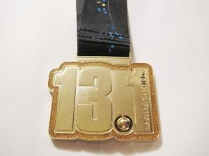 2009 13.1 Marathon Chicago Medal