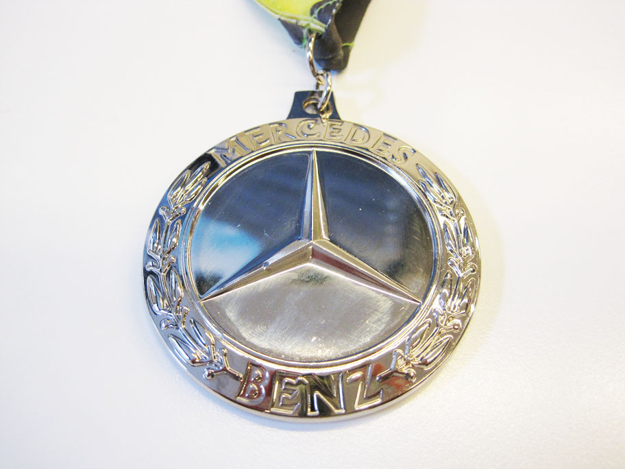 Medals dan 39 s marathon for Mercedes benz half marathon