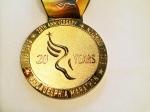 2013 Philadelphia Marathon Medal (Philadelphia, PA)