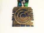 2015 Lifetime Fitness Miami Half Marathon Medal (Miami, FL)