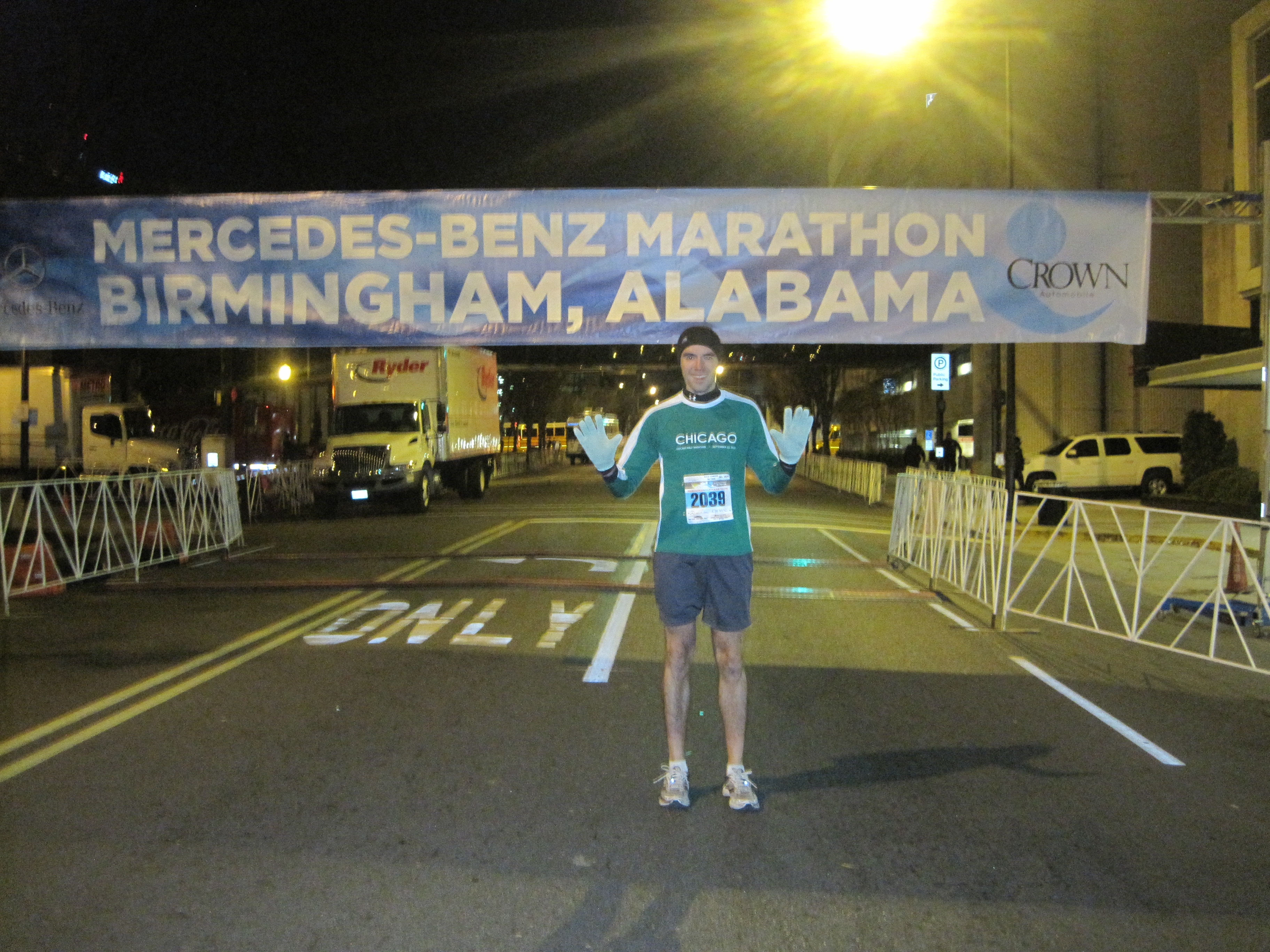 301 moved permanently for Mercedes benz half marathon