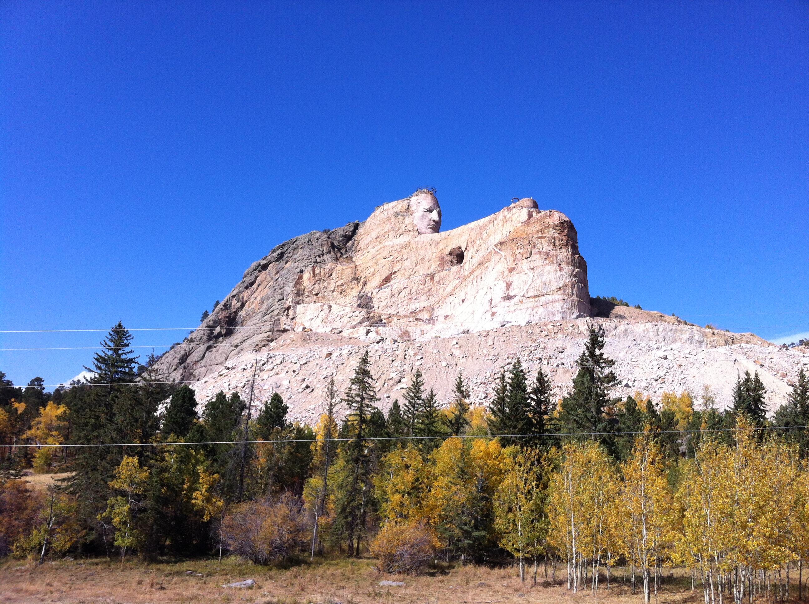 State 26 South Dakota 2012 Run Crazy Horse Marathon