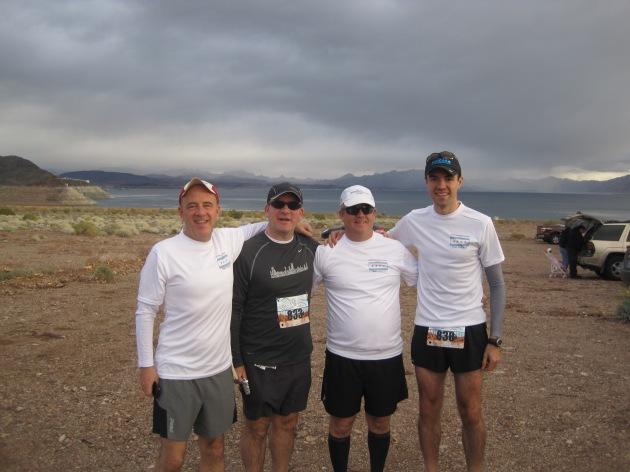 Left to right: Jim, Greg, Steve, Me