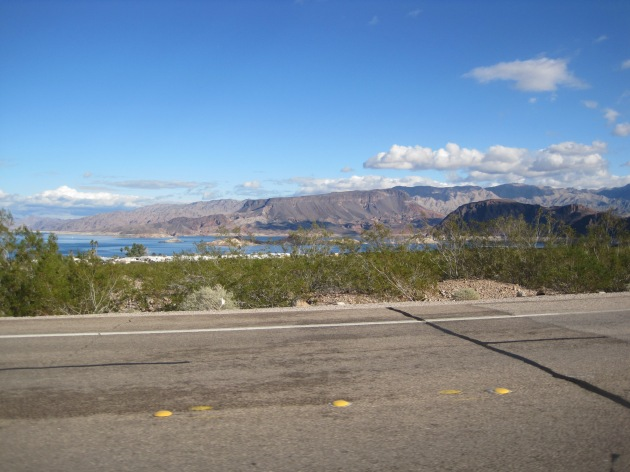 We were headed for the shores of Lake Mead