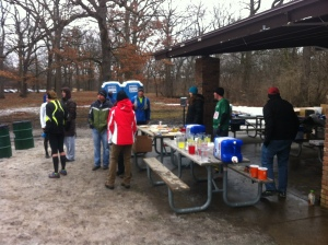 Start / Finish Aid Station