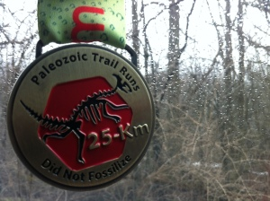 Paleozoic Trail 25k DNF (ha) Medal