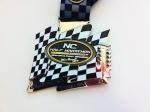 2013 NC Half Marathon Medal (Concord, NC)