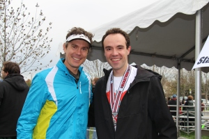Scott Jurek, vegan and ultrarunner extraordinaire.