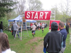 The Start / Finish / Aid Station of the Ice Age Trail 50