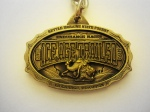 2013 Ice Age Trail Run 50k Key Chain (LaGrange, Wisconsin)