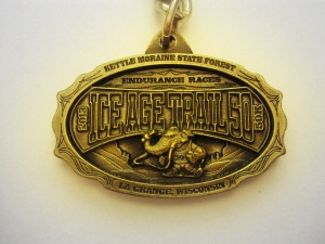 2013 Ice Age Trail Run 50k Key Chain