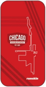 runskin Chicago Marathon phone skin