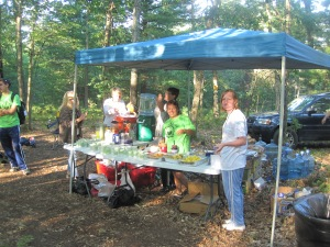 Aid Station #2, Watermelon City