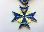 2013 Portland Marathon Medal Front (Portland, OR)