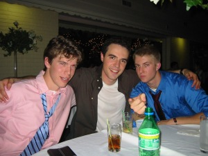 Left to right: Brandon, me, Kevin (November 14, 2003)