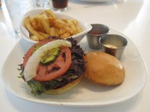 Flip Burger after the Mercedes Marathon in Birmingham, AL