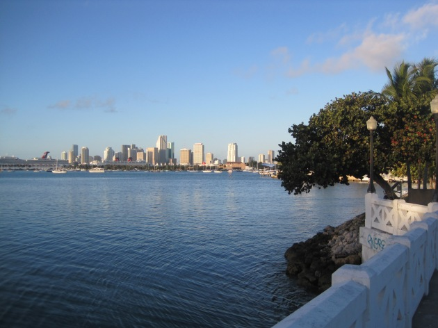 5. Returning to the mainland via the Venetian Causeway is equally gorgeous, with some parts of the race being so narrow, you feel surrounded by the ocean.