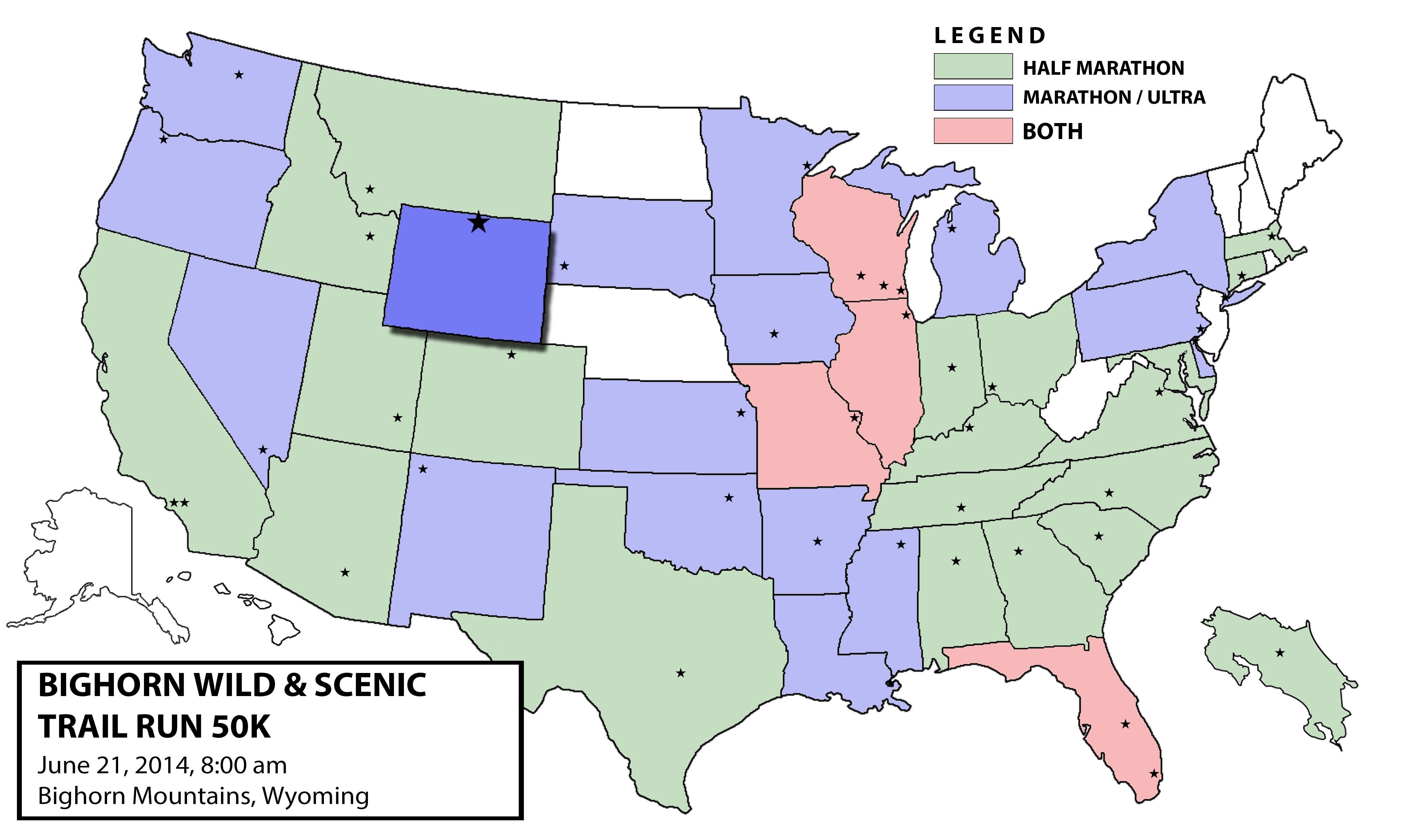 State 40: Wyoming (2014 Bighorn Trail 50k) | Dan\'s Marathon