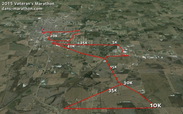 2015 Veteran's Marathon Google Earth Rendering