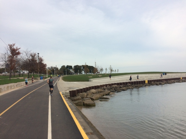The lake front path, my winding home away from home